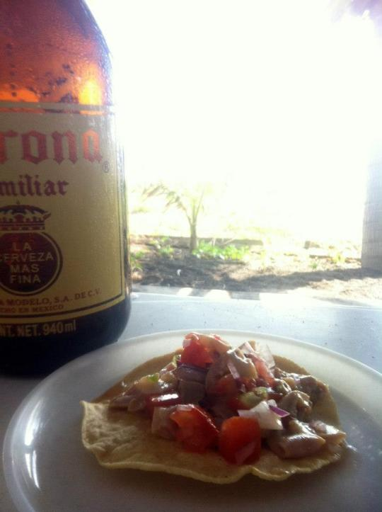Perfect with an ice-cold beer, Salud!